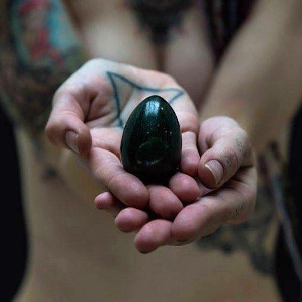 Green Jade Yoni Egg